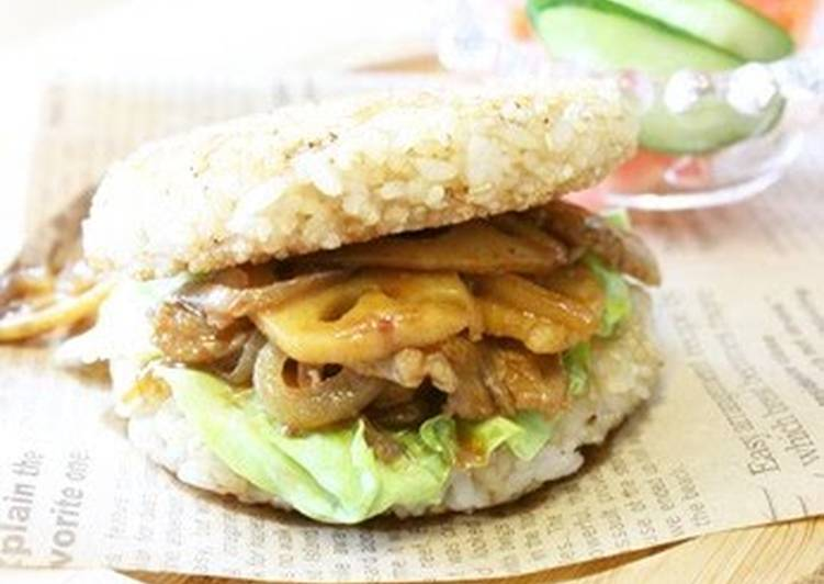 Rice Burgers For An Easy Lunch, Finding Healthful Fast Food