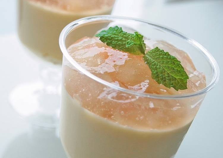 Recipe: Perfect Peach Mousse and Jelly