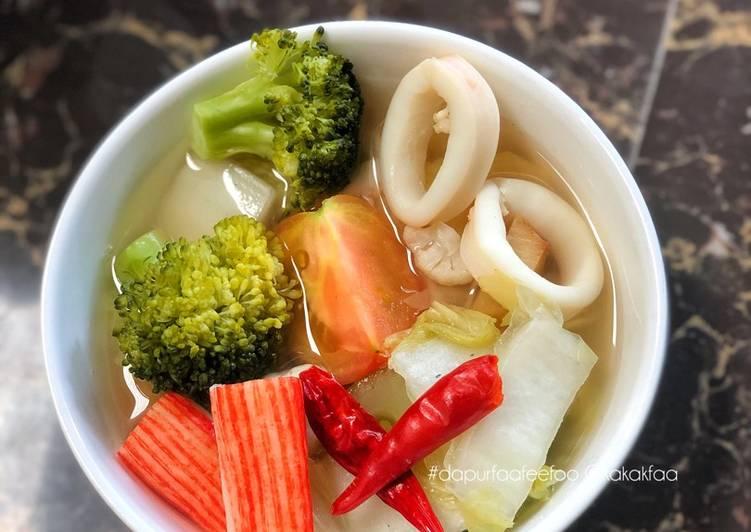 Sup Sayur Siam