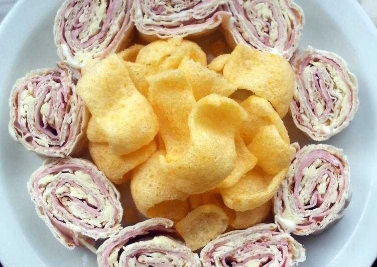 Tortilla Snack Rolls