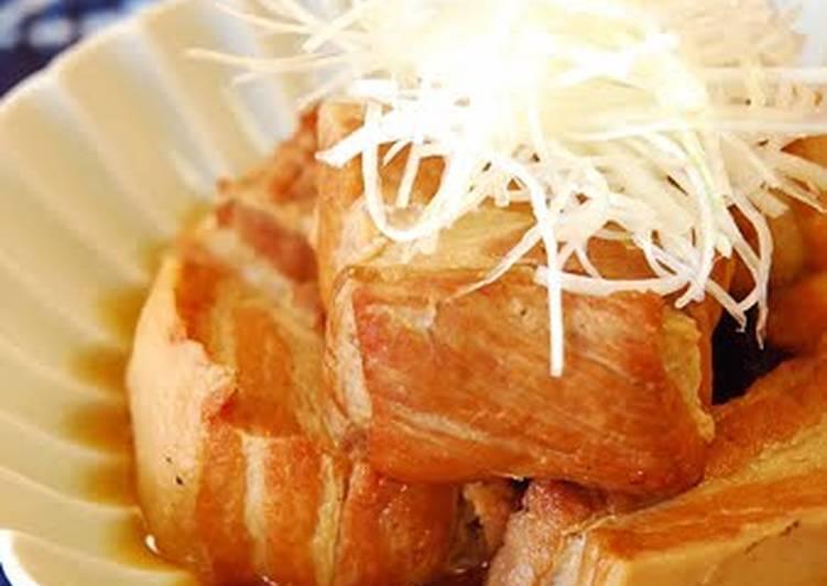 Step-by-Step Guide to Prepare Award-winning Pork Kakuni (Simmered Pork Belly)