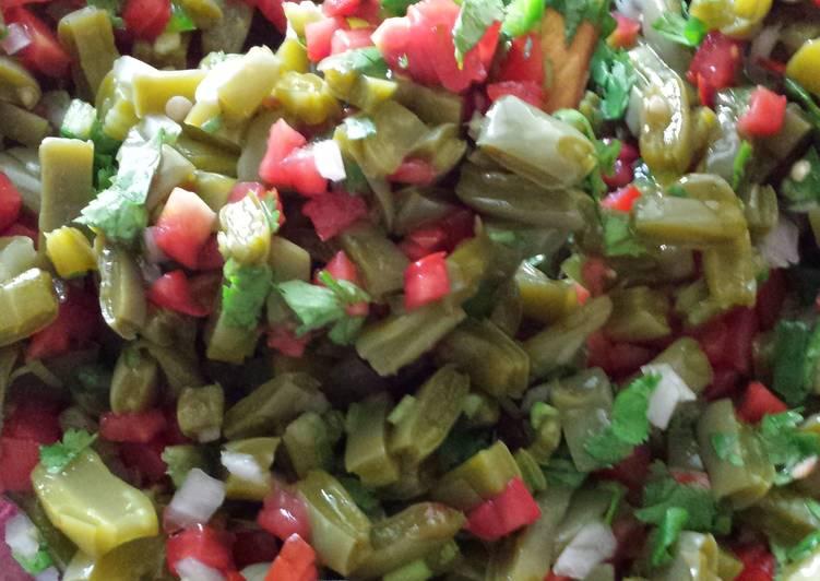 Step-by-Step Guide to Make Perfect Ensalada de nopales