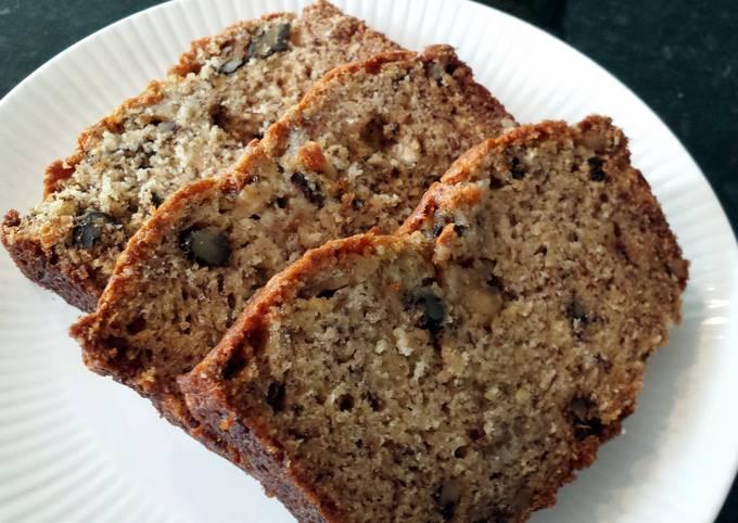 Recipe: Yummy super easy, super moist banana bread
