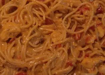 Easiest Way to Cook Tasty Cheesy chicken spaghetti