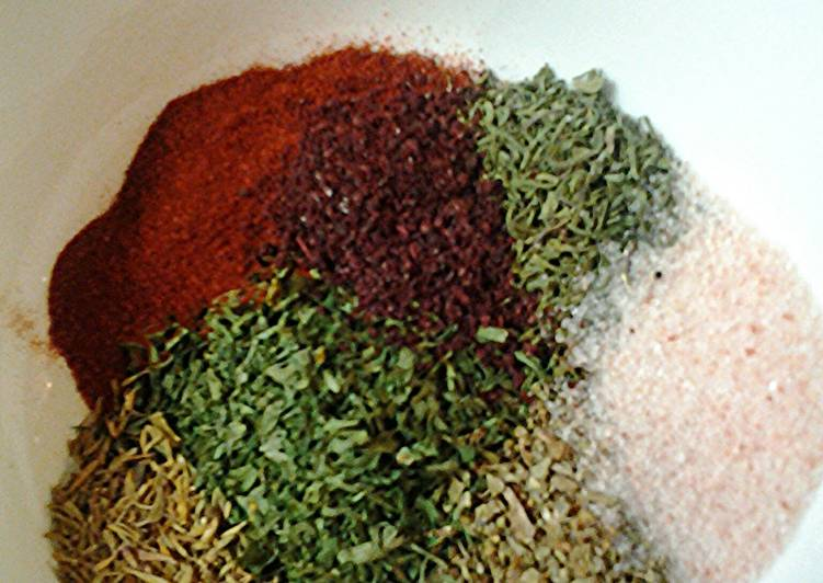 Recipe of Most Popular Savory rub