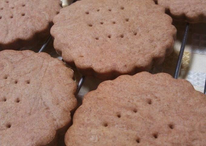 Crunchy & Slightly Sweet Cinnamon Cookies