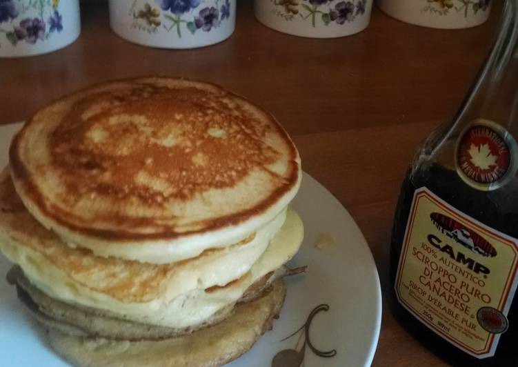 Simple Way to Make Homemade Fluffy pancake // even I can make
