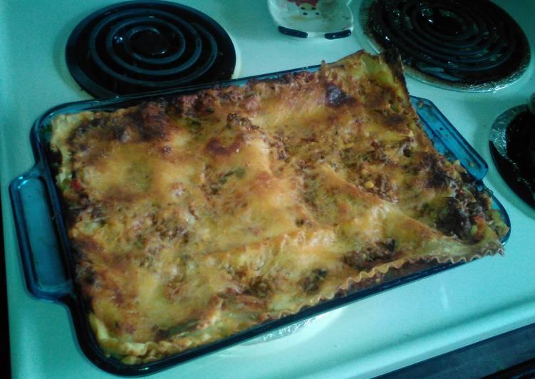 Garfield Lasagna Recipe By Gnu Brown Cookpad