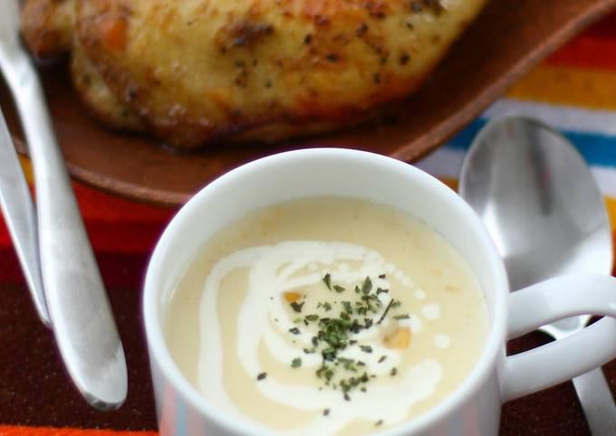 Recipe: Delicious Quick and Easy Creamy Corn Soup