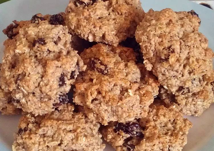 Vickys Oatmeal Raisin Cookies, GF DF EF SF NF