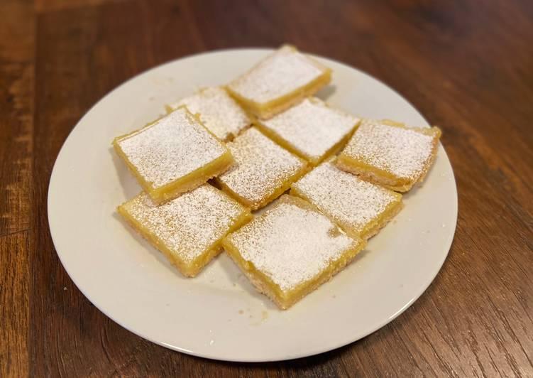 Simple Way to Make Speedy Perfect Lemon Bars