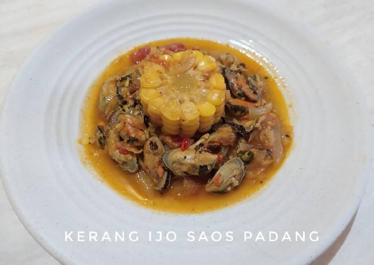 Kerang Ijo Saos Padang