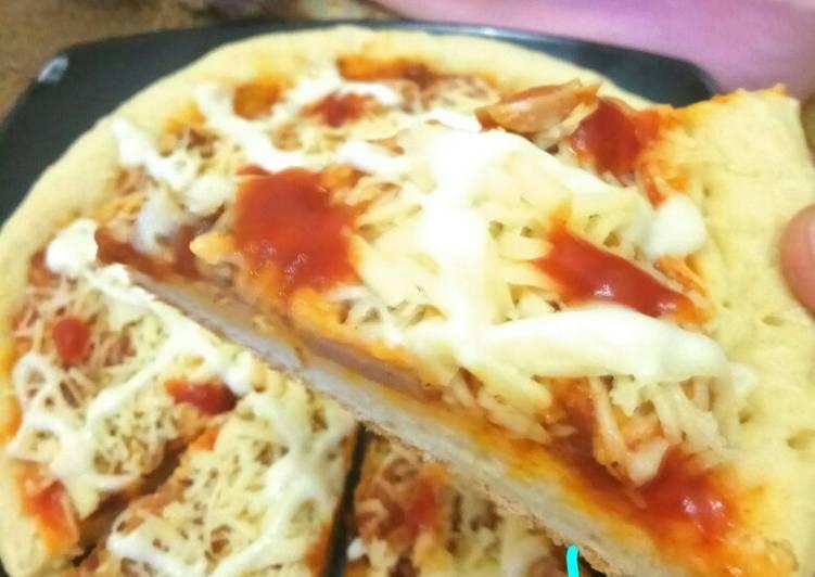 Pizza teflon rumahan simpel dan enak