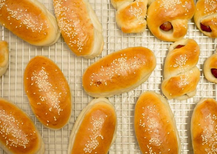 Chinese hotdog buns / Rolls