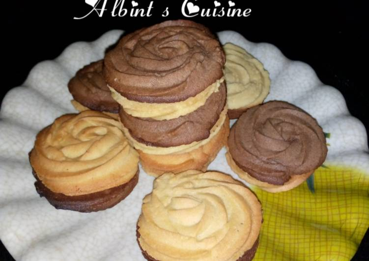 Recipe of Super Quick Homemade Butter swirl cookies