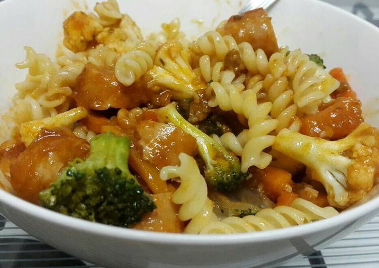 Broccoli pasta dish