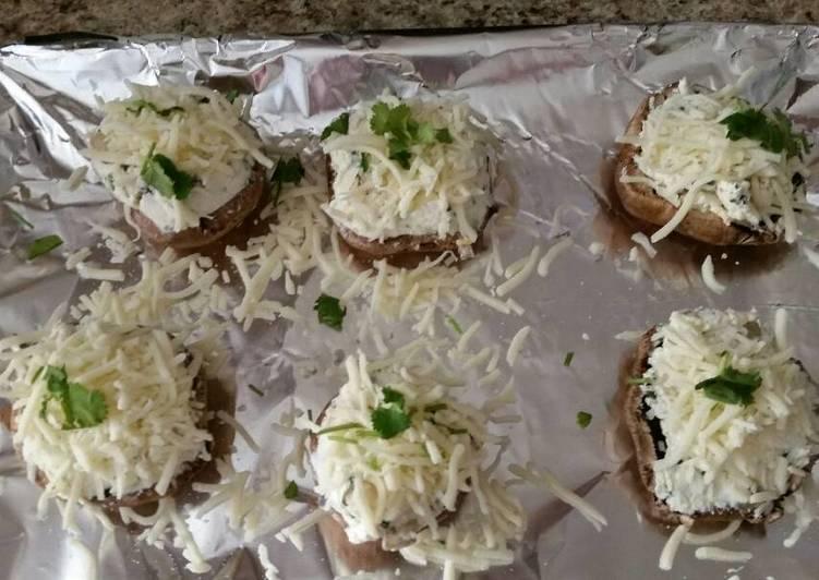 cream cheese stuffed mushroomlove