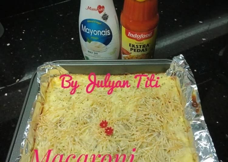 Macaroni schootel semoked beef