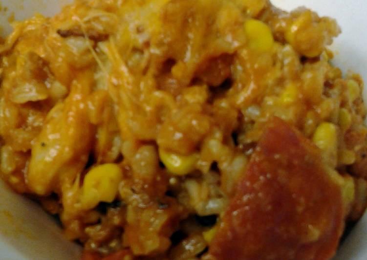Steps to Prepare Speedy leftovers in rice
