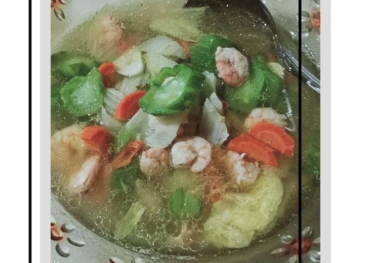 Langkah-Langkah Memasak Capcay Soup (Capcay Kuah Sederhana), Bisa Manjain…