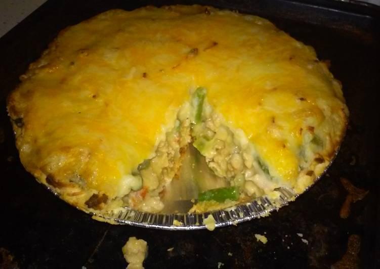 Dinner pie (sheppard pie)