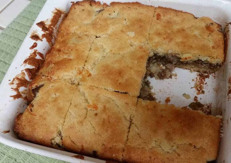 Step-by-Step Guide to Prepare Any-night-of-the-week Venison Cornbread Squares