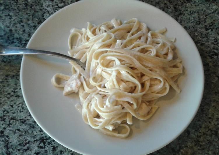 How to Make Tasty Chicken Fettuccini Alfredo