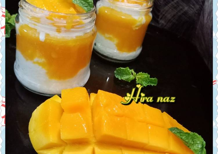 Easiest Way to Make Speedy Mango parfait