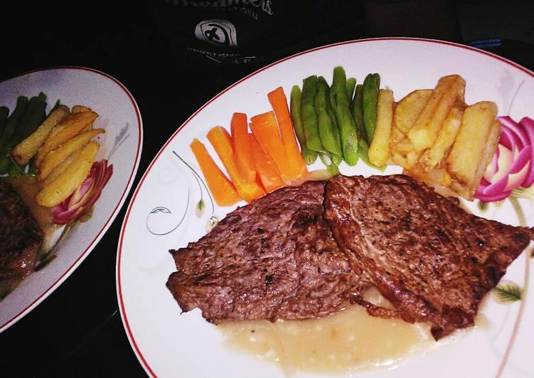 Resep Beef Steak Rumahan Oleh Jatuz Relieviana Cookpad