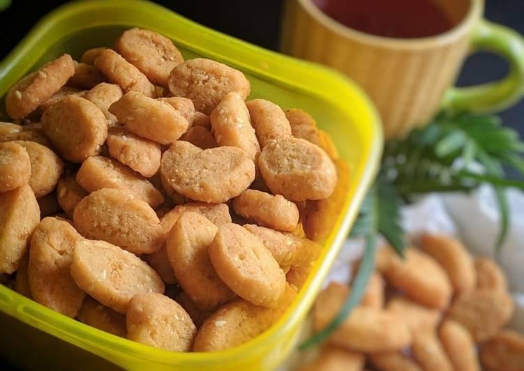 Biji ketapang manis (tanpa telur) - cookandrecipe.com