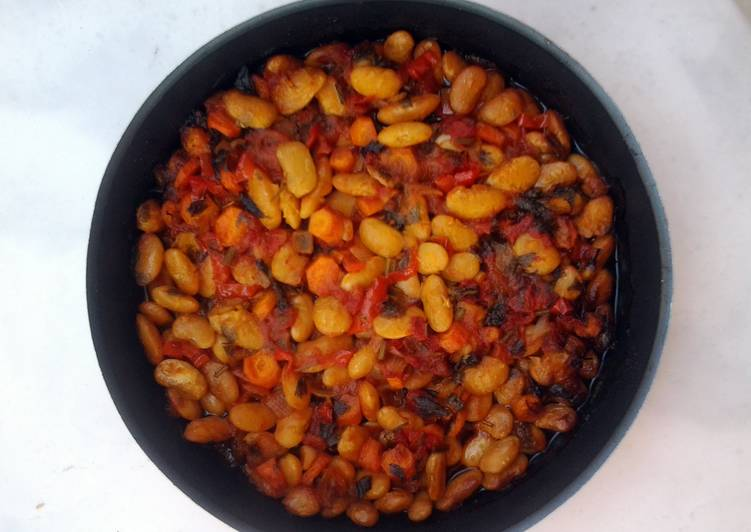 5 Minute Easiest Way to Prepare Speedy Oven baked butter beans