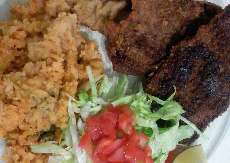 milenesa de pollo or rez