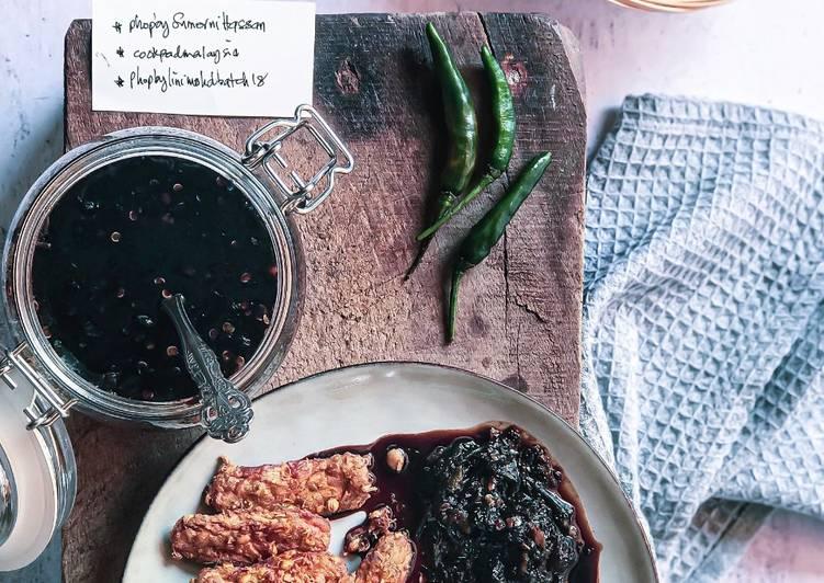resepi tempe goreng berempah  sambal kicap phopbylinimohd batch enak dilidah Resepi Mee Goreng Sardin Enak dan Mudah