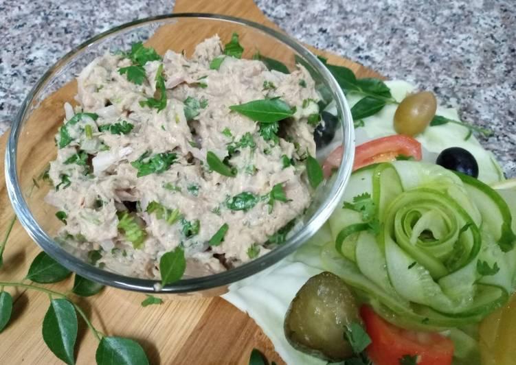Recipe of Homemade Tuna fish 🥗 selad