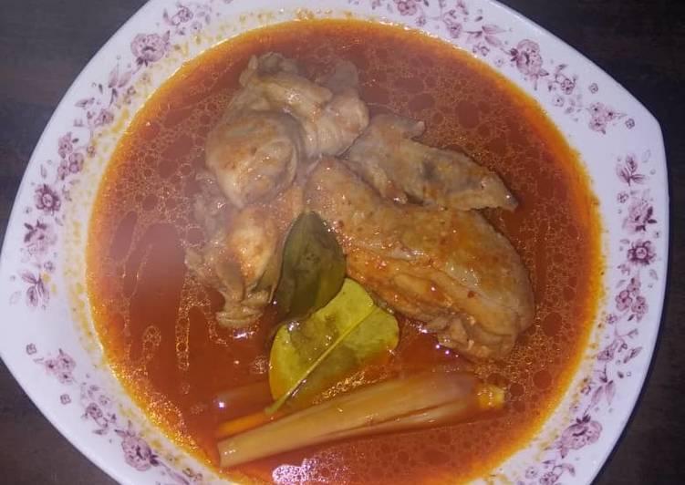 3 Langkah Resepi Asam Pedas Ayam Yang Sederhana