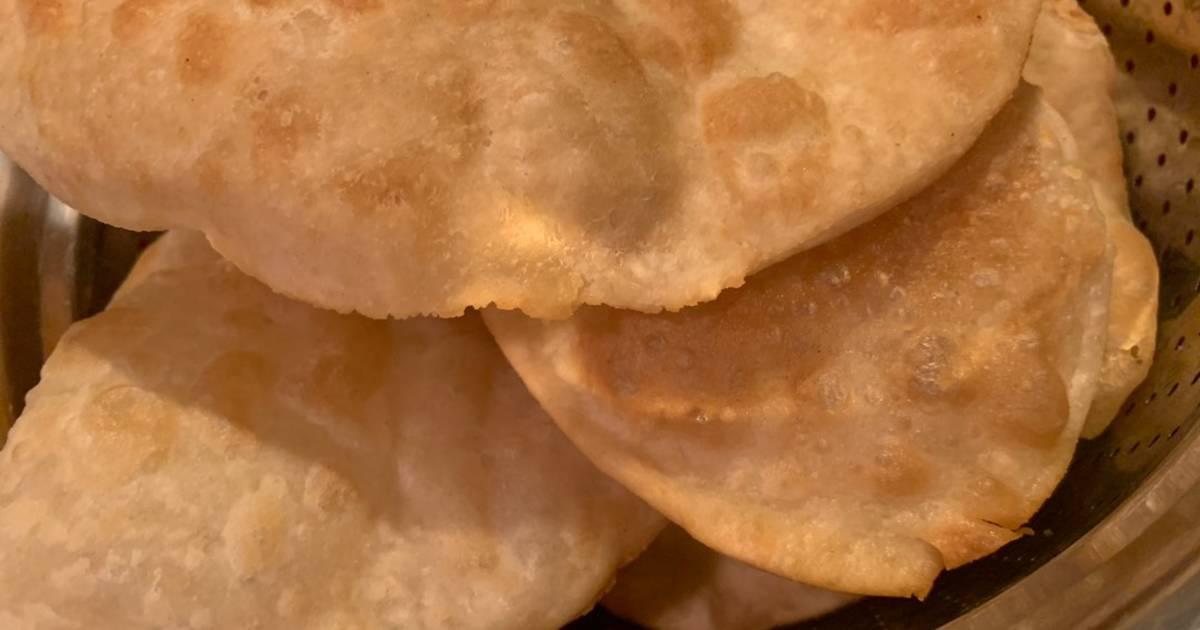 طريقة عمل خبز بوري الهندي 88 وصفة خبز بوري الهندي سهلة وسريعة كوكباد