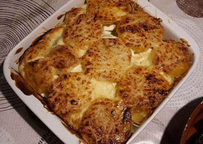 Gratin de pommes de terre aux herbes de Provence
