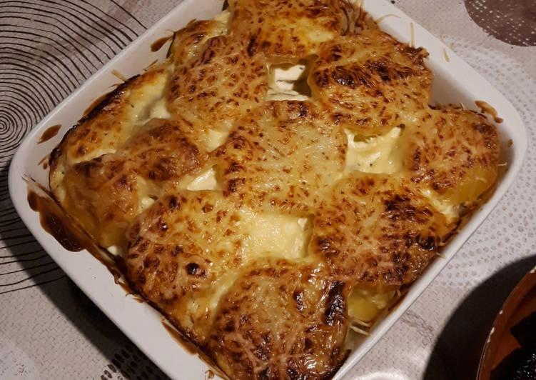 recette Gratin de pommes de terre aux herbes de Provence le délicieux