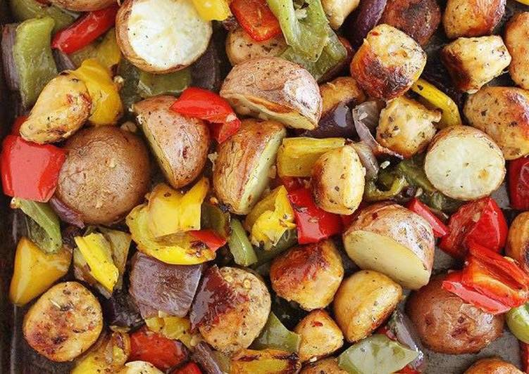 Rustic Vegetable Medley