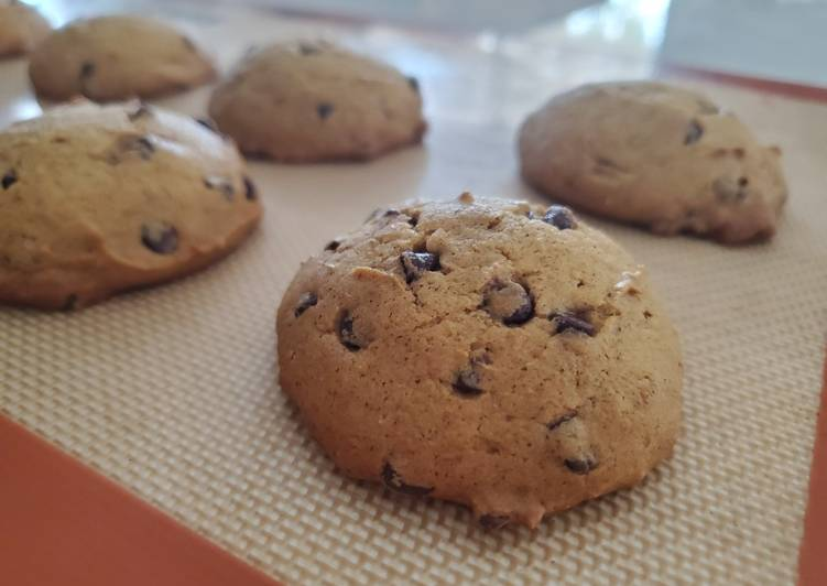 Pumpkin Chocolate Chip Cookies - Laurie G Edwards