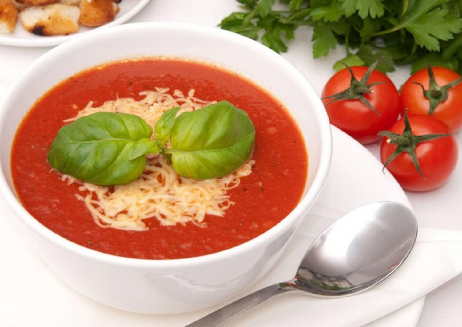 томатный суп диетический рецепт с фото приготовления мультиварке