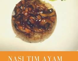 Nasi Tim ala bumbu Rempah Nusantara (Bumbu Nasi Goreng Jamur Shitake)