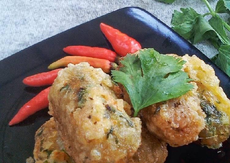 Perkedel Singkong Ayam