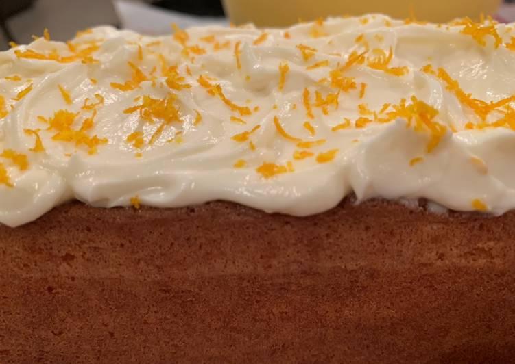 10 Minute Recipe of Blends Orange cake