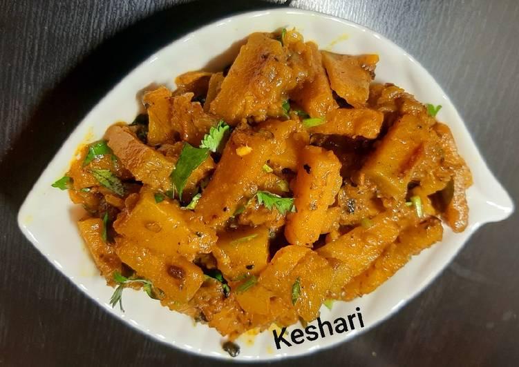 How to Prepare Super Quick Homemade Pumpkin Curry |Kaddu ki Sabji