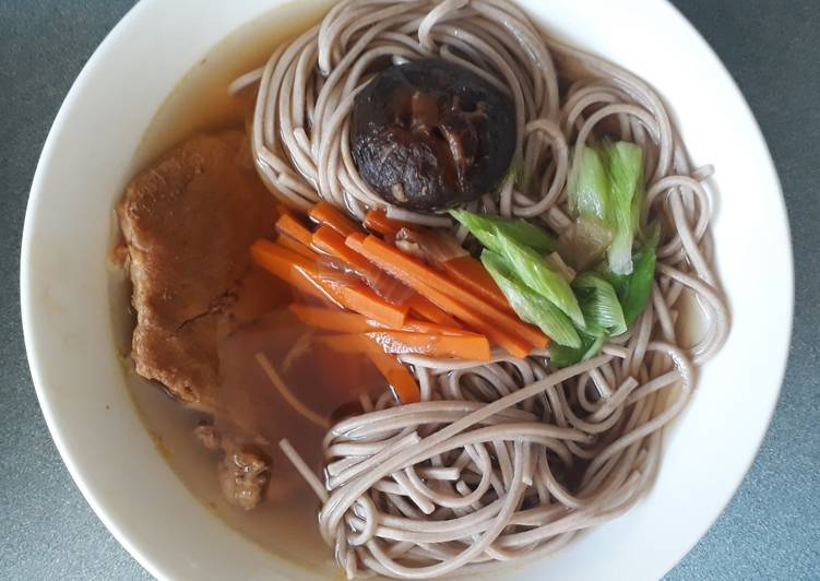 Resep Mie Soba Kuah Oleh Renny Dese Cookpad