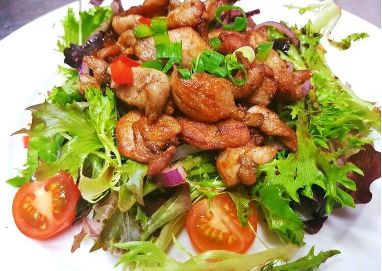 #salads# Salad with chicken