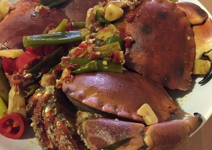 Chinese Style Hot and Spicy Fresh Crab