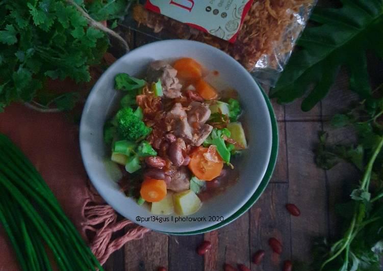 Resep Sop Bakso Kacang Merah Yang Mudah Bikin Ngiler