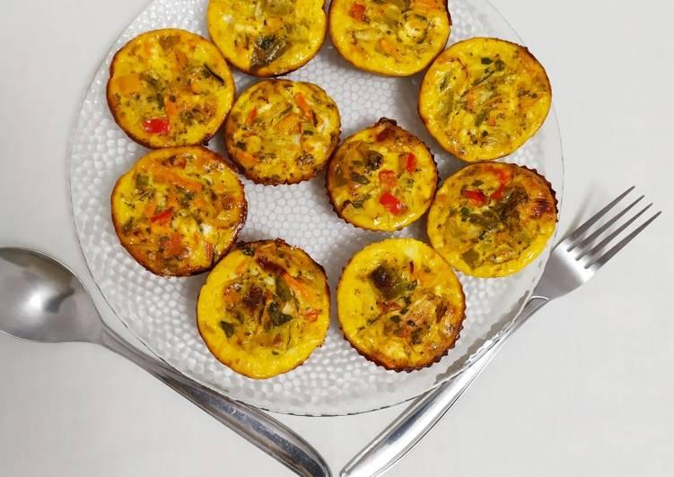 Nos 9 Meilleures Recettes de Muffins salés aux légumes